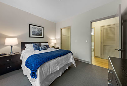 Bell Olmsted Park apartments bedroom